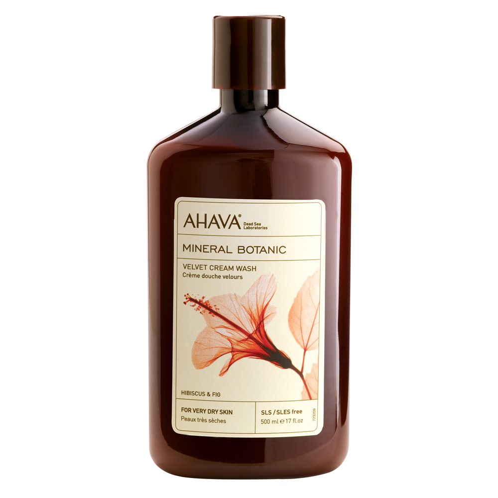 AHAVA Mineral Botanic Cream Wash Hibiscus & Fig
