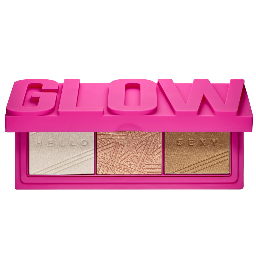 GlamGlow Glowpowder Hyaluronic Acid Infused Glow Palette